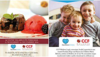 """,,Îndulceşte viaţa unui copil"""", campania prin care ajuţi un copil să crească în familie!"""