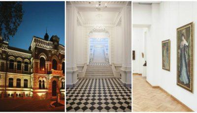 Imagini din clădirea Muzeului de Arte din Chişinău, proaspăt renovată!