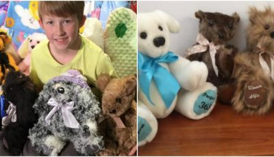 La doar 12 ani confecţionează jucării pentru copiii bolnavi din spitale! Video