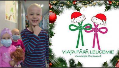 Târg caritabil de Crăciun. Participă şi ajută copiii bolnavi de leucemie din Secţia de Oncohematologie Pediatrică!