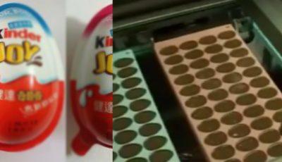Experţii au concluzionat! Ciocolatele Kinder sunt printre cele mai periculoase produse! Video
