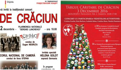Lista evenimentelor și concertelor la care poți merge în luna decembrie!