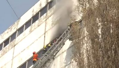 Unul dintre pompierii accidentaţi în incendiul de la Ciocana şi-a pierdut viaţa. Avea 28 de ani