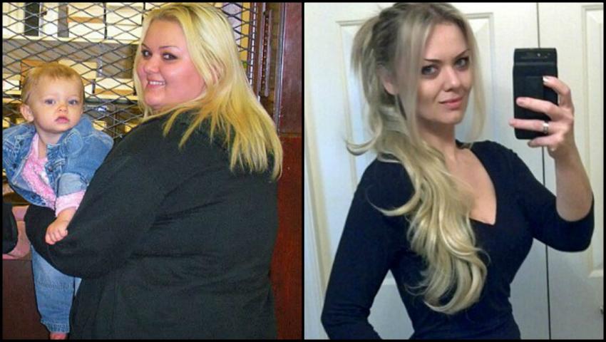 Foto: Viața ei s-a schimbat radical după ce a renunțat la vechile obiceiuri și a slăbit 60 de kg!