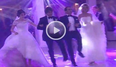 Dan Bălan a cântat aseară la nunta a doi fraţi din Chişinău, care s-au căsătorit în aceeaşi zi!