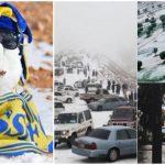 Foto: Video impresionant! A nins în Arabia Saudită, pentru prima dată în ultimele decenii