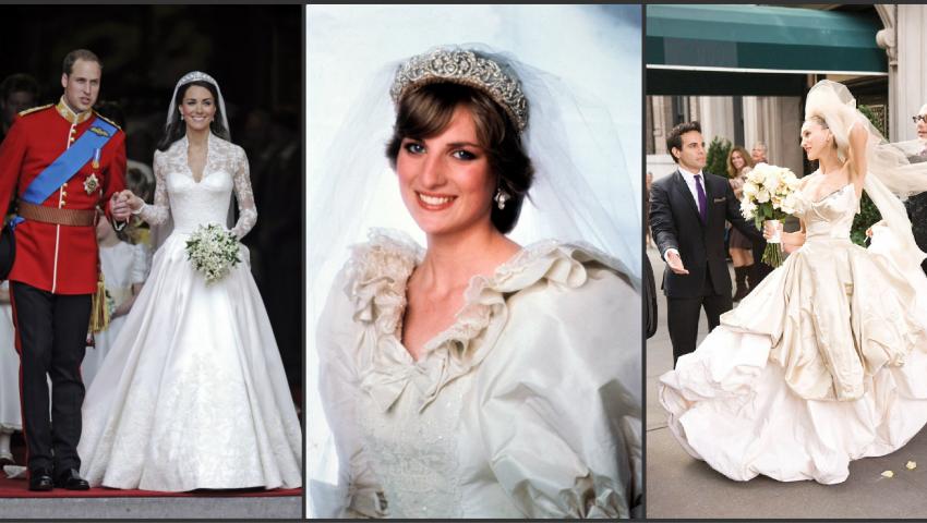 Foto: 10 rochii de mireasă, care au intrat în istorie