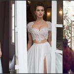 Foto: Superbă! Pânza și mărgelele se transformă în rochii de mireasă