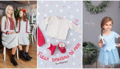 Cum să-ți îmbraci copiii de Sărbători? Îți răspund designerii autohtoni