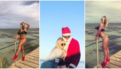 Daniela Jenunchi a sărbătorit Crăciunul în ţările calde! Află ce destinație a ales prezentatoarea TV