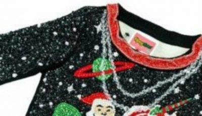Cel mai scump și oribil pulover de Crăciun din lume!