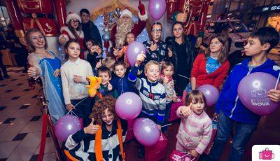Clinchete de clopoței și zâmbete de copil la Shopping MallDova