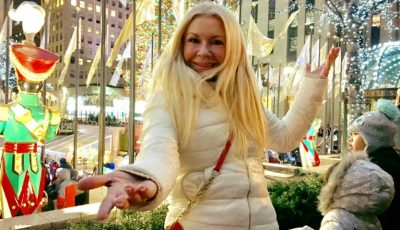 Ludmila Bălan petrece sfârșitul de an la New York. Vezi cum se distrează!