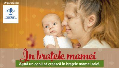 Ajută un copil să crească în braţele mamei! Iată cum o poți face