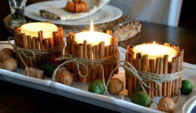 Cele mai frumoase decorațiuni din lumânări. Inspiră-te!