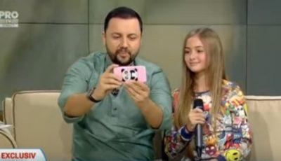 Iuliana Beregoi a ajuns la emisiunea lui Măruță!