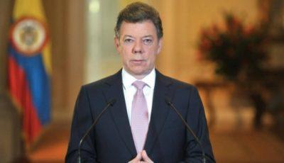 Președintele columbian Juan Manuel Santos a primit Premiul Nobel pentru Pace