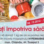 Foto: Donați un kilogram împotriva sărăciei!