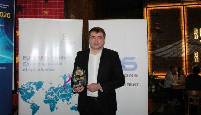 "Denis Roșca a câștigat trofeul ""Science Slam 2016"""