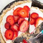 Foto: Tort cu mascarpone și căpșuni