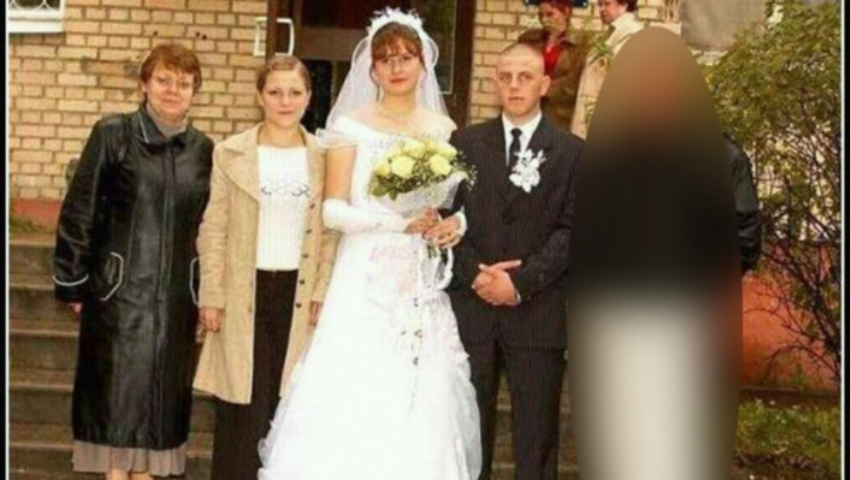 """Foto: A vrut să atragă atenția, dar :""""Ne-ai stricat nunta!"""""""