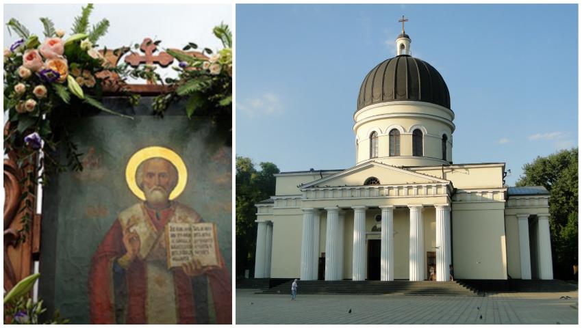 """Foto: Icoana și Moaștele Sfântului Ierarh Nicolae vor fi aduse din Italia, la Catedrala mitropolitană """"Naşterea Domnului"""" din Chişinău"""