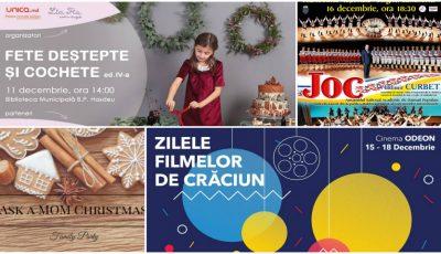Evenimentele și concertele pentru adulți și copii la care merită să ajungi în luna decembrie!