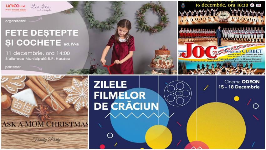Foto: Evenimentele și concertele pentru adulți și copii la care merită să ajungi în luna decembrie!