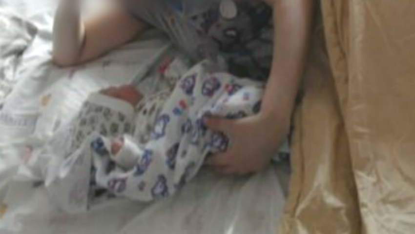Foto: Premieră medicală în Moldova! O femeie cu transplant renal a născut un copil sănătos