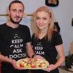 Foto: Mihai și Angela Stratulat, testați la gătit