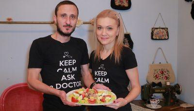Mihai și Angela Stratulat, testați la gătit