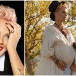 Foto: Pink a născut! Primele poze cu bebelușul