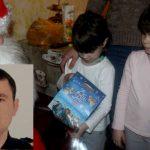 Foto: Fetițele pompierului erou Ivan Nogailîc au fost vizitate de Moș Crăciun!