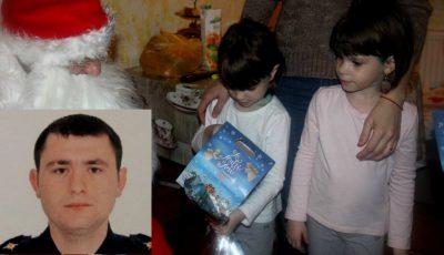 Fetițele pompierului erou Ivan Nogailîc au fost vizitate de Moș Crăciun!