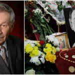 Foto: Actorul Mihai Curagău a fost condus astăzi pe ultimul drum. Imagini de la funeralii