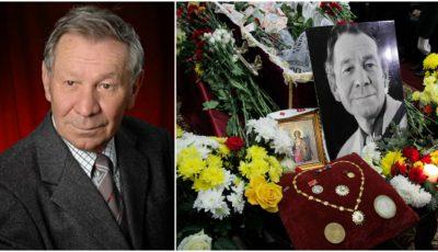 Actorul Mihai Curagău a fost condus astăzi pe ultimul drum. Imagini de la funeralii