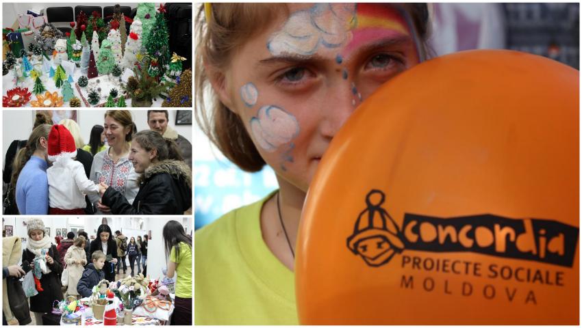 Foto: Asociația Obștească Concordia va oferi daruri de Crăciun copiilor din centrele de plasament!