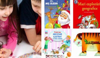 Dăruiește copiilor cărți de Sărbători! Reduceri de până la 50%