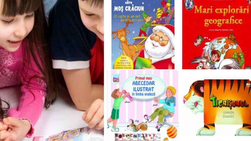 Foto: Dăruiește copiilor cărți de Sărbători! Reduceri de până la 50%