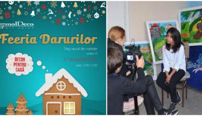 """Art-salon molDeco te invită la târgul ,,Feeria Darurilor 2016""""!"""