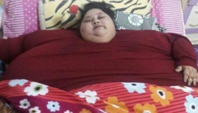 Cea mai grea femeie din lume va fi operată. Cântărește 500 de kg