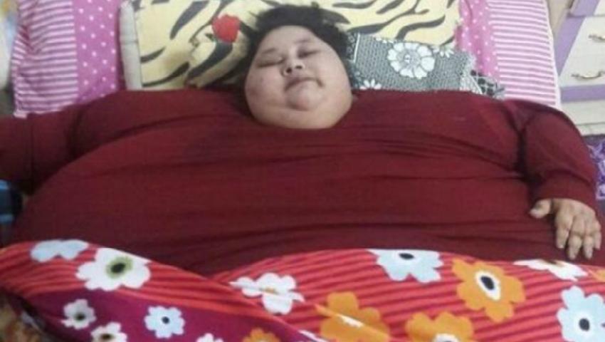 Foto: Cea mai grea femeie din lume va fi operată. Cântărește 500 de kg