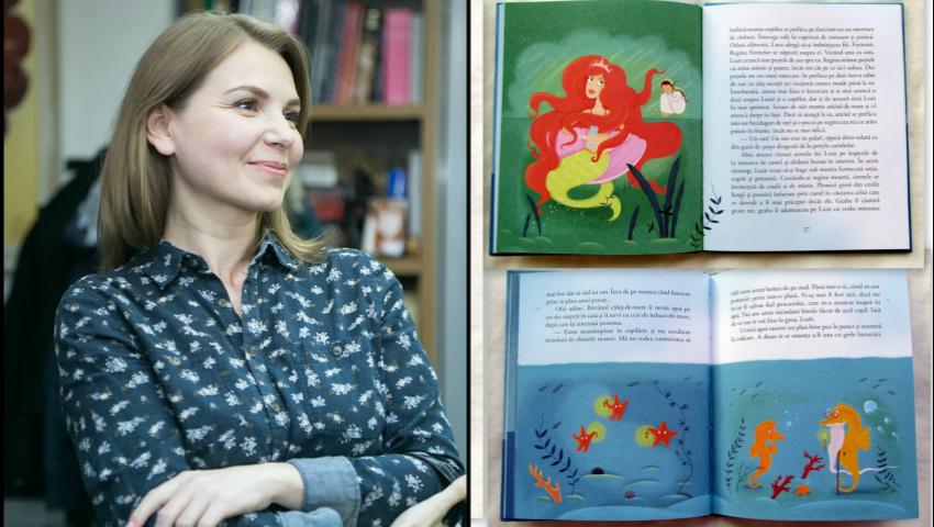 Foto: O moldoveancă a primit cea mai înaltă distincție internațională în domeniul ilustrației cărților pentru copii