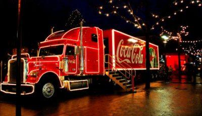 Vin sărbătorile! Caravana Coca-Cola revine în PMAN