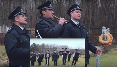 """Ascultă colindul """"Deschide ușa, creștine"""", interpretat de fanfara Poliției de Frontieră!"""
