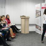Foto: Seminarul susținut de Galina Tomaș a fost apreciat de publicul prezent