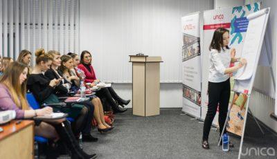 Seminarul susținut de Galina Tomaș a fost apreciat de publicul prezent