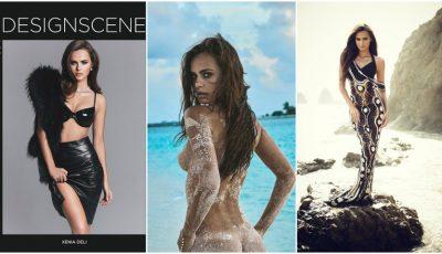 Modelul Xenia Deli, pe coperțile revistelor celebre din 2016!