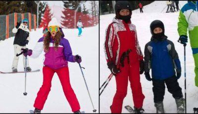 Instructorii Unica Sport au luat cu asalt schiatul pe zăpadă!