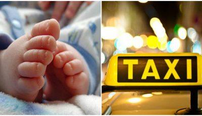 O gravidă din Ungheni nu a mai apucat să ajungă la spital și a născut în taxi, iar șoferul a asistat nașterea